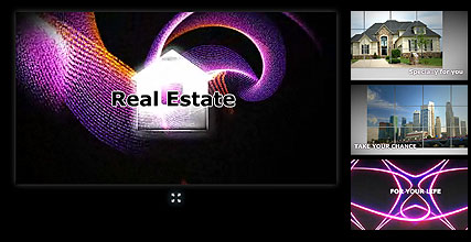 Real Estate, Flash intro template