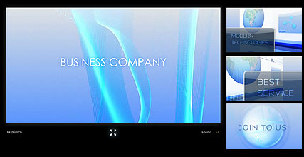Name: Business Company - Type: Flash intro template - Item number:300110954