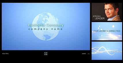 Name: Business Team - Type: Flash intro template - Item number:300110959