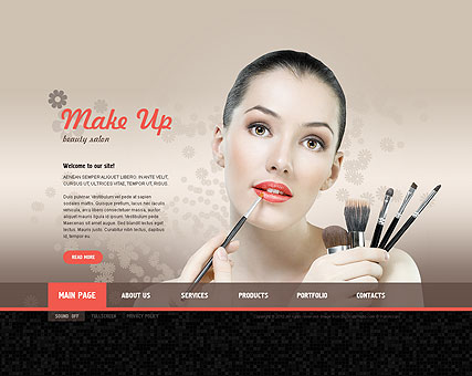 Make Up Studio Easy Flash Template Id 300110962
