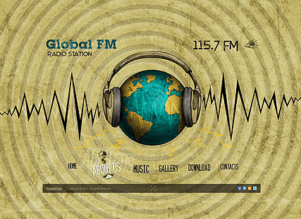 FM Station, Easy flash template