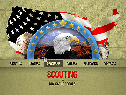 Scouting, Easy flash template