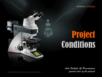 Science, Microsoft PowerPoint template