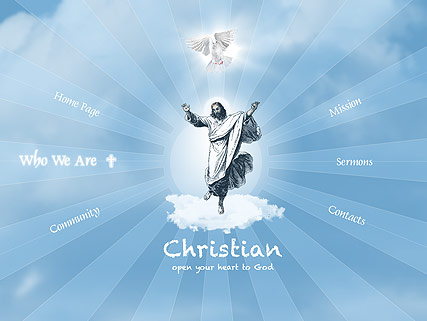 Christian Church, Easy flash template