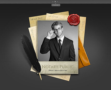 Notary Public, Easy flash template