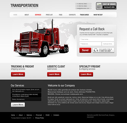 Name: Transportation - Type: HTML template - Item number:300111213