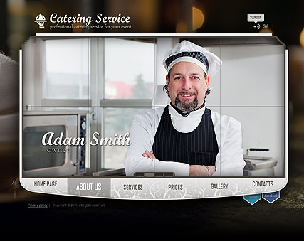 Name: Catering Service - Type: Easy flash templates - Item number:300111228