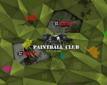 Name: Paintball Club - Type: Easy flash templates - Item number:300111231