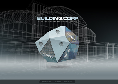 Building Company, Easy flash template