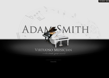 Virtuoso Musician, Dynamic Video Gallery Admin flash template