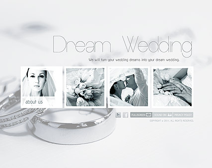 Wedding Planner, Easy flash template