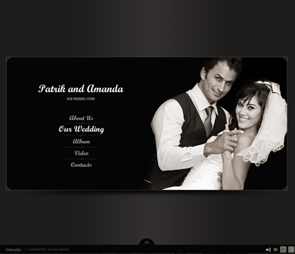 Name: Our Wedding - Type: VideoAdmin flash templates - Item number:300111250
