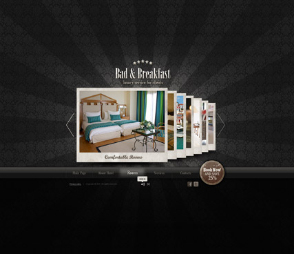 Name: Bed and Breakfast - Type: Easy flash templates - Item number:300111253