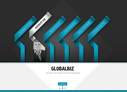 Global Business, Easy flash template