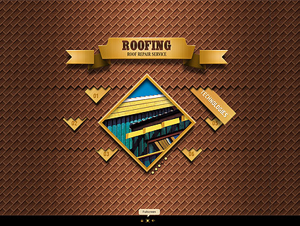 Roofing, Easy flash template