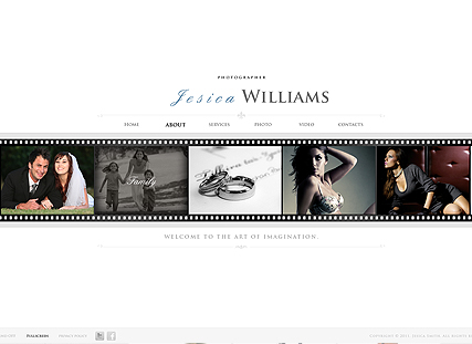 White Gallery, Dynamic Photo and Video Gallery Admin flash template