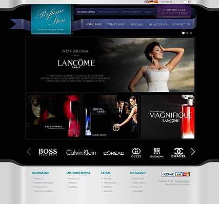 Name: Parfume Store v2.3 - Type: osCommerce template - Item number:300111328