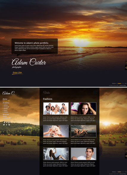 Photo Gallery, HTML5 Photo and Video Gallery Admin template