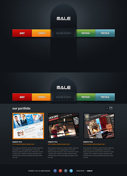 Web Design - HTML5 template ID:300111656