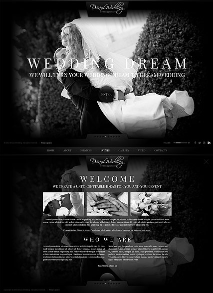 Name: Wedding Planner - Type: HTML5 template - Item number:300111709
