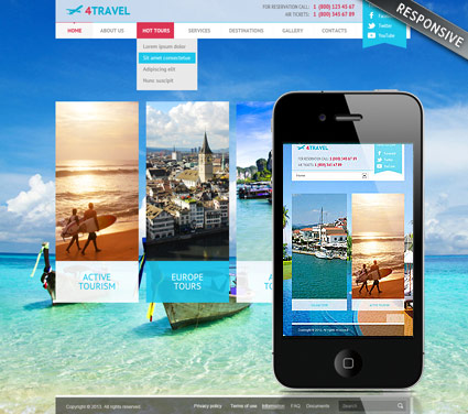Name: Travel v3 - Type: Joomla template - Item number:300111729