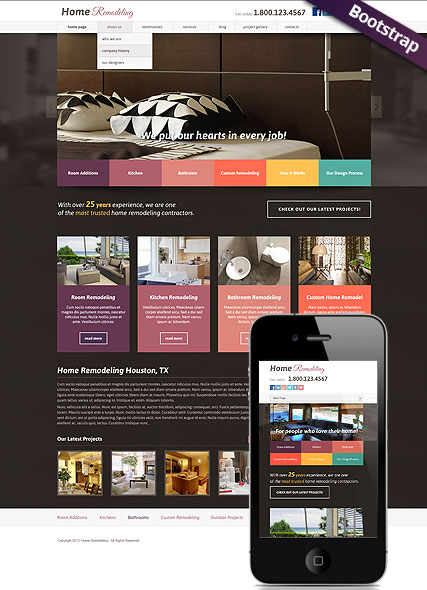 Name: Home remodeling v3.0 - Type: Joomla template - Item number:300111770