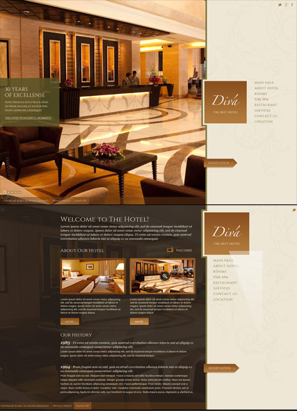 Name: Hotel - Type: HTML5 template - Item number:300111814