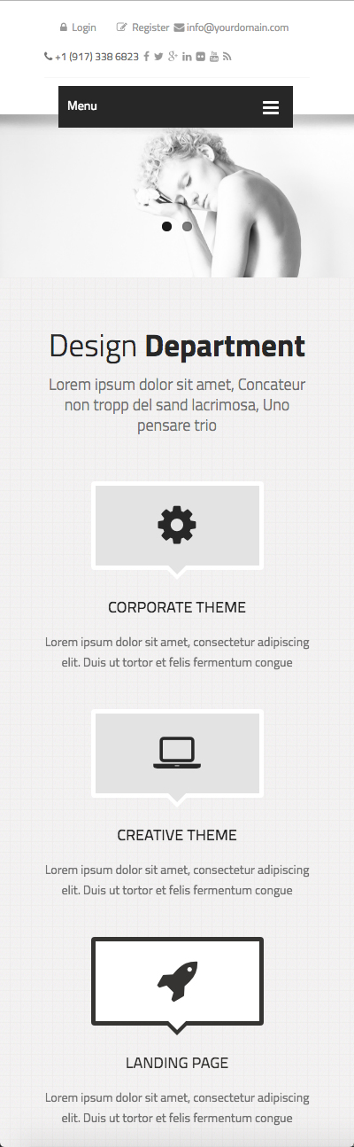 Name: BrandName - Type: HTML5 template - Item number:300111923