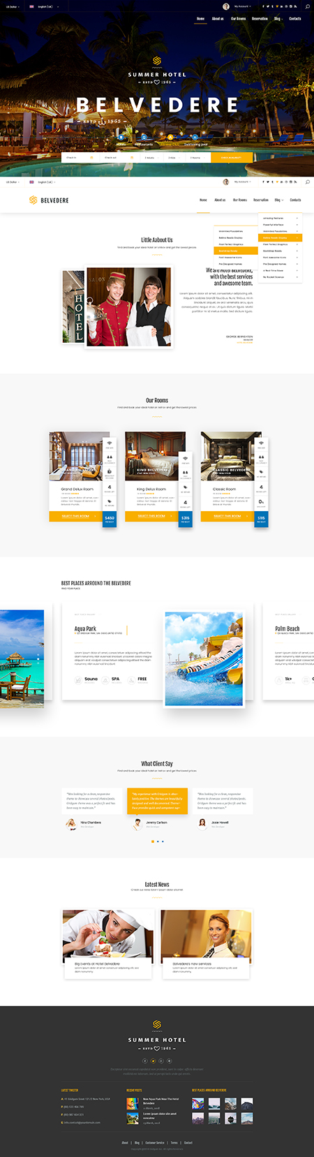 Name: Hotel Belvedere - Type: Bootstrap template - Item number:300111939