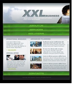 XXL Business Flash template