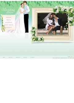 Wedding Flash template
