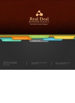 Business agency Flash template