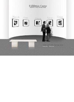 Exhibition center Flash template