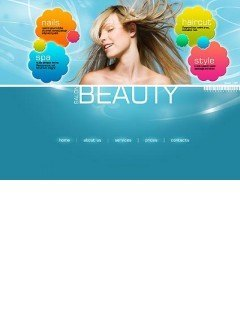 Beauty Saloon Flash template