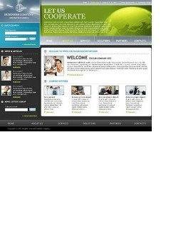 Business html dreamweaver template