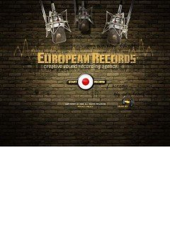 Europian records Flash template