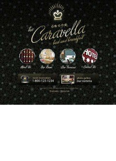 Hotel Caravella Flash template