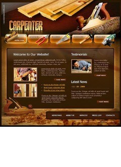 Carpenter Flash template