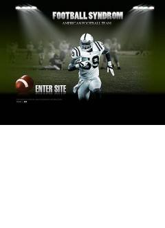 American football Easy flash template
