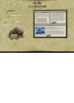 Millitary Easy flash template