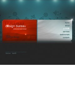 Design bureau Easy flash template