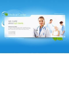 Medical center Easy flash template