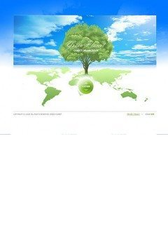 Green Planet Easy flash template