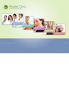 Private Clinic Easy flash template