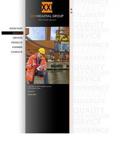 XXI Industrial Easy flash template