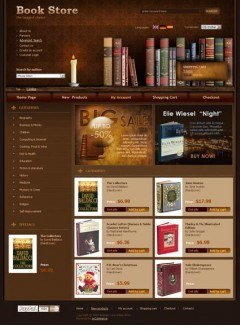 Book Store osCommerce