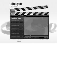 Inside Video Easy flash template
