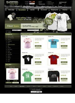 T-shirts osCommerce