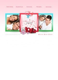 Love story Easy flash template