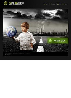 Ecology Easy flash template